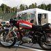 Ducati 350 Scrambler eredeti műbőr szütyővel