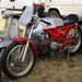 Tojásblokkos Motobi versenygép. Négyütemű ám!
