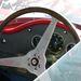 Maserati Birdcage cockpit sebességmérő nélkül