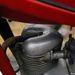 Szív alakú szelepfedél. ilyen is csak olasz motoron van