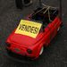 Távirányítós Fiat 500 modell, benzinmotorral