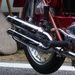 Dupla kipufogó a Ducati Elite-en