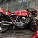 Eredeti Ducati versenymotor. Kicsit elhanyagoltan, de kompletten