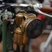 NSU kismotor karbidlámpája