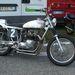 Egy igen csinos Triumph Bonneville 750-átépítés, flat tracker stílusban