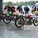 Egyhengeres Ducati Desmo versenymotorok
