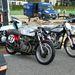 Egy MV blokkos Privat és egy Norton Gardengate Manx 350 versenymotor