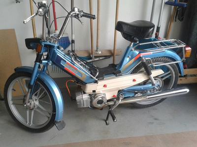 Így néz ki az igényes mopedtuning (forrás: Moped blog)