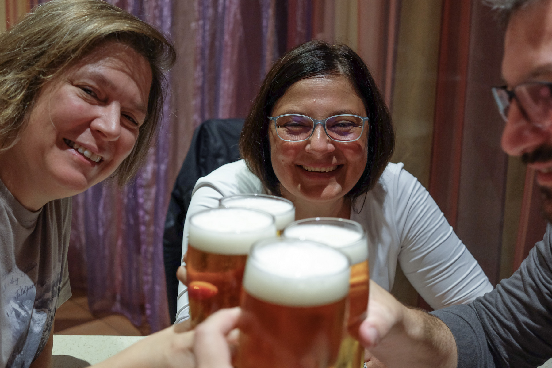 Ez itt az utolsó, közös magyarországi kávénk Sopron után kicsivel