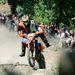 Kígyósi Sándor halad a Siroki Motoros Találkozón rendezett motoros hegymászó (hillclimb) versenyen 2012. július 28-án. MTI Fotó: Komka Péter