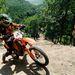 Szép Róbert halad motorjával a Siroki Motoros Találkozón rendezett hegymászó (hillclimb) versenyen 2012. július 28-án. MTI Fotó: Komka Péter
