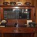 Telefonközpont. A dugók megfelelnek a mai