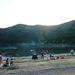 Szent Anna tó, naplementekor. Mágikus