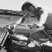 Steve McQueen: a nök bálványa és kedvenc motorja, a Triumph TR6