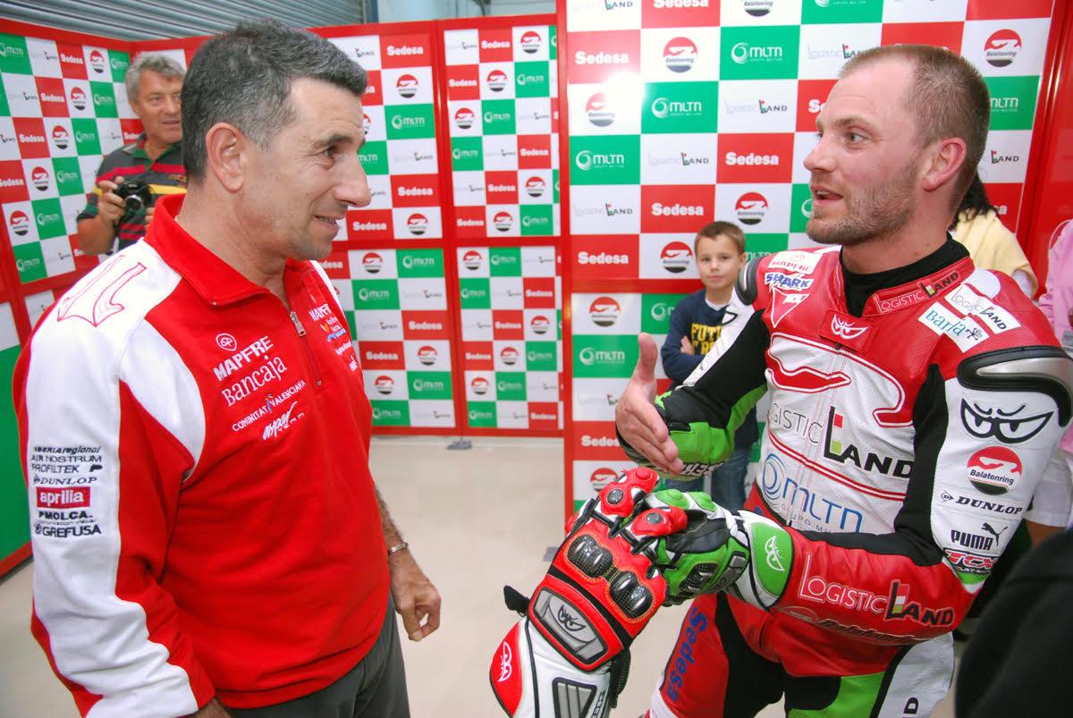 VB győzelem! 2007 Valencia, 2. hely