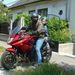 Zsolt is elvitte Bálintot motorozni egy körre. Akkor még bent állt a 190-esem a garázsban