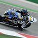 Fabrizio a motorjainál mindig nagyon harapós félbetéteket és kevés csúszókuplungot használ