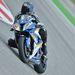 Superstock motor, Sylvain Barrier a pilóta - látszik a mintás gumiabroncs