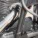Picike olajhűtő, látszik, hogy szép, telivér léghűtéses motor