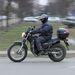 Hiába vannak mínuszok, ilyen felszereléssel gond nélkül lehet több tíz kilométert is motorozni