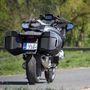 Élőben is óriási, pedig a hathengeres K1600 az igazi csúcs a BMW-nél
