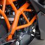 A motor 9500-as fordulaton adja le a 15 lóerőt, 8000-nél a 12 Nm nyomatékot. Természetesen injektoros
