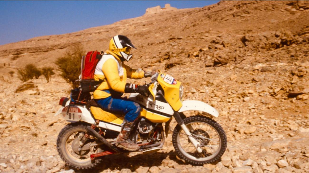 Guzzi V65 TTC a Dakaron, 1985